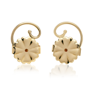 Levears Hero Gold Pair earing backs