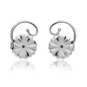 Levears Stainless Steel Pair earring backs